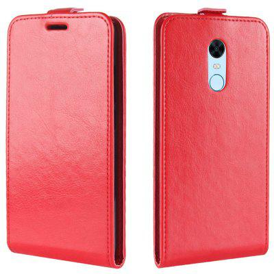 Crazy Horse Grain Wallet Phone Case für Xiaomi Redmi 5 Plus
