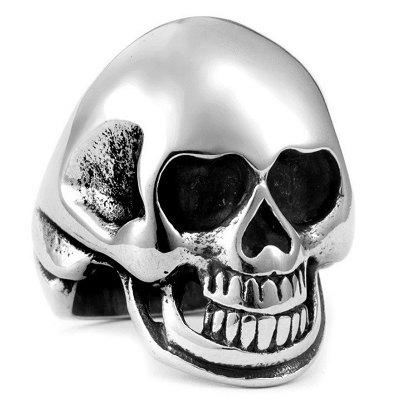 Men Ring Hollow-out Creative Pattern Halloween Fashion