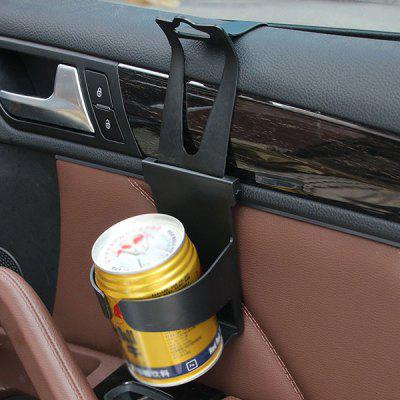 Universal Drink Cup Holder Vehicle Door Mount Beverage Bottle Can Stand for Car Van Truck