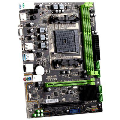 MAXSUN MS - A88FX AMD Motherboard SATA3.0 / USB3.0 / Dual Channel DDR3