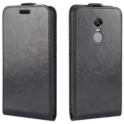 PU Leather Protective Phone Case Cover with Card Bag for Redmi Note 4X