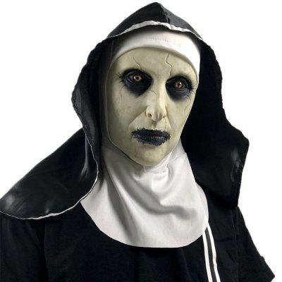 Halloween Party Masquerade Cosplay Nun Mask
