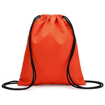 Outdoor Water-resistant Drawstring Backpack Storage Bag