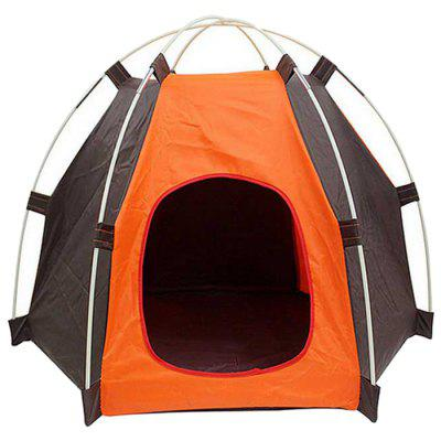 Pet Tent Dog Cat Oxford Cloth Outdoor Travel Supplies