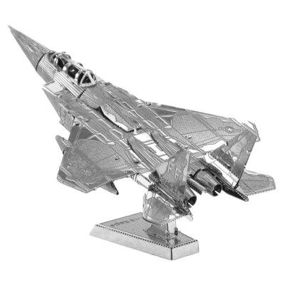DIY 3D Stainless Steel F15 Fighter Puzzle Assembled Model Educational Toys
