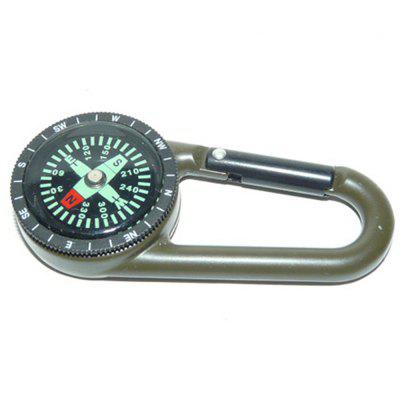 Zinc Alloy Multifunctional Compass with Scale Ring