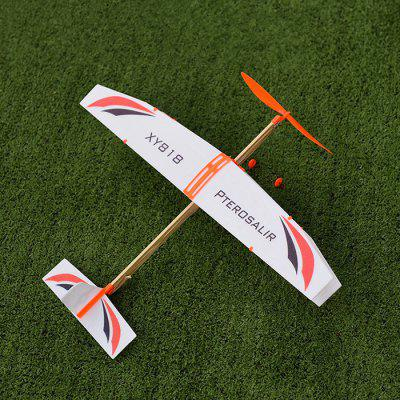 Rubber Band Powered Plane Glider DIY Model
