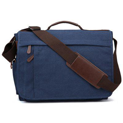 ZUOLUNDUO Canvas Shoulder Bag for Street Outdoors