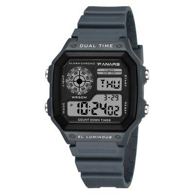 PANARS Stylish Digital Watch with Plastic Band