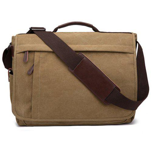 ZUOLUNDUO Canvas Shoulder Bag for Street Outdoors -  35.70 Free Shipping  14a22be94b7c8