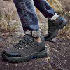 Man Hiking Shoes Outdoor Wearable Anti-slip Lace Up - ASH GRAY