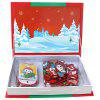 Christmas Puzzle Magnet Box Toy for Early Education - BEAN RED