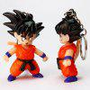 Cartoon Character Key Chain with LED Light / Sound Gift 1pc - LAVA RED