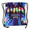 Popsicle Pattern Backpack for Sports and Travel - MULTI-A