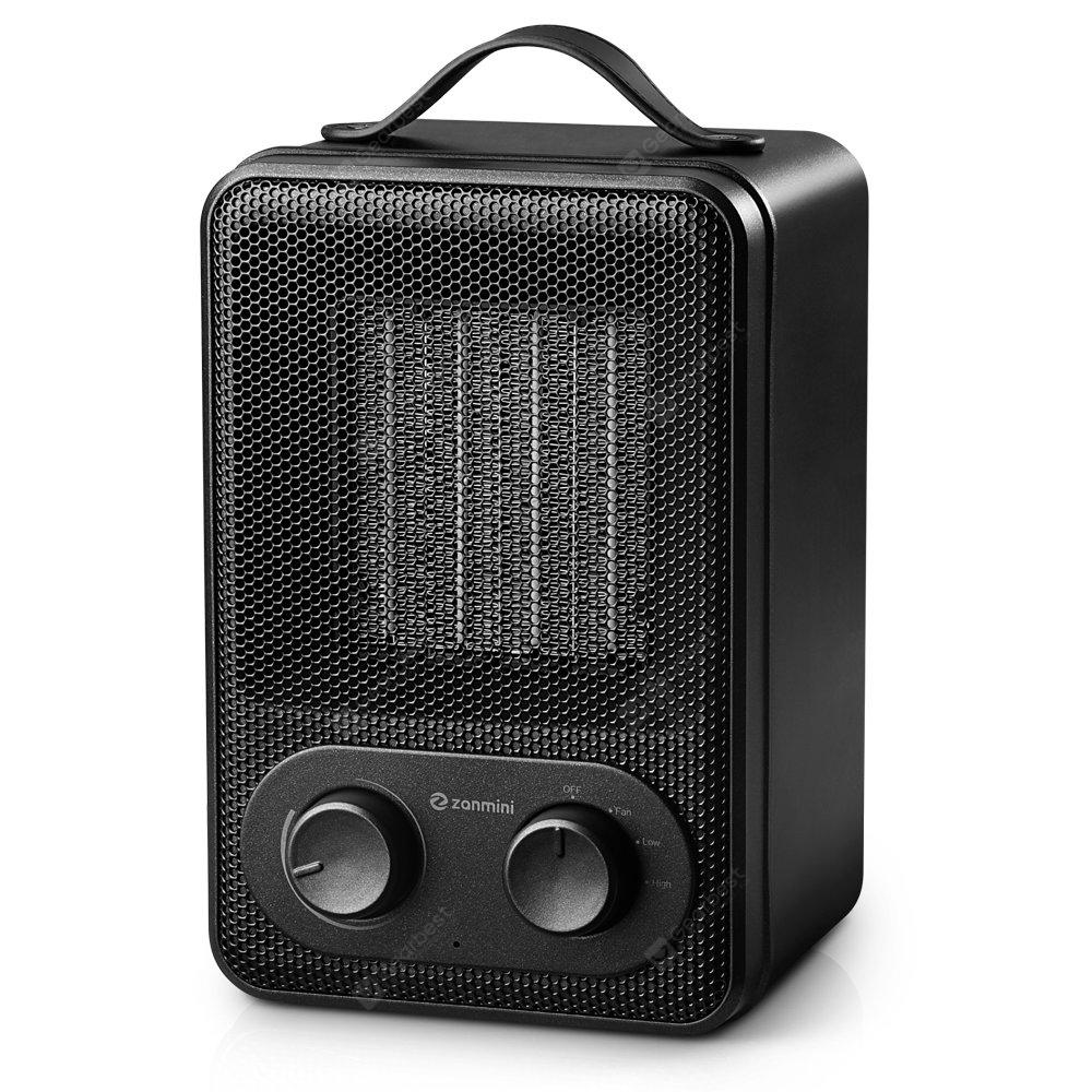 zanmini DH - QN03 Electric Portable Heater - BLACK EU PLUG