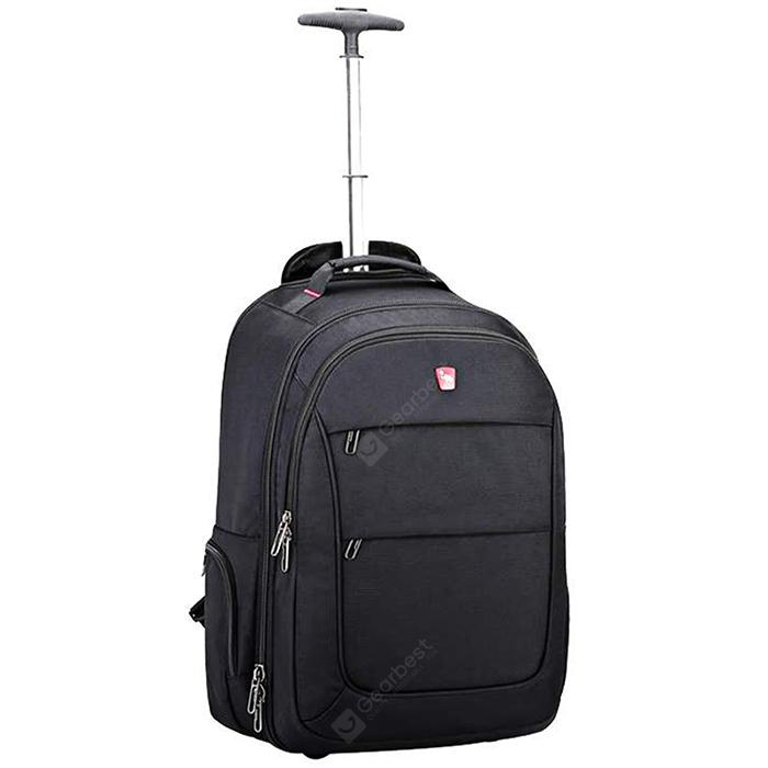 Oiwas Ocb4318 Trolley Backpack Luggage Rolling Travel Bag Business Wheels Suitcase