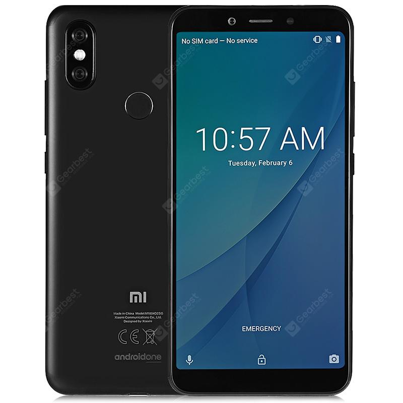 Xiaomi Mi A2 4G Phablet 4GB RAM Global Version - BLACK 4+32G