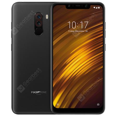 Xiaomi Pocophone F1 6.18 inch 4G Phablet Global Version - GRAPHITE BLACK  6+128GB