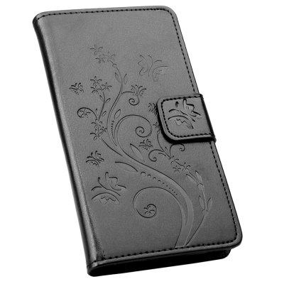 Embossing Phone Leather Cover for Sumung Galaxy J4