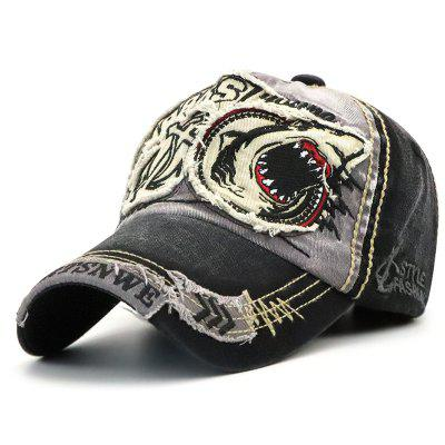 Washed Personality Trend Baseball Cap for Wear
