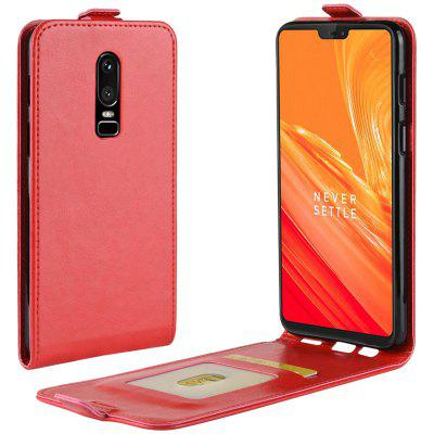 Crazy Horse Phone Protective Cover for OnePlus 6