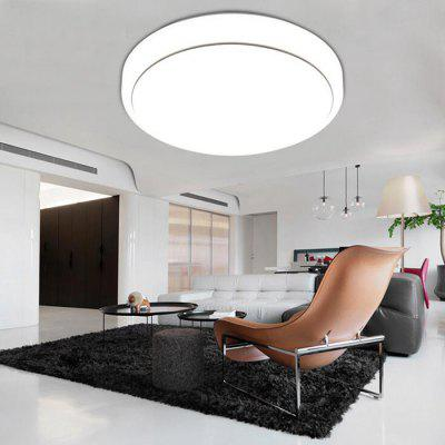 18W Simple Acrylic Round Ceiling Light for Living Room 27cm