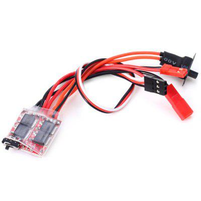 20A ESC Speed Controller with Brake for RC Model Car Boat Tank Accessory