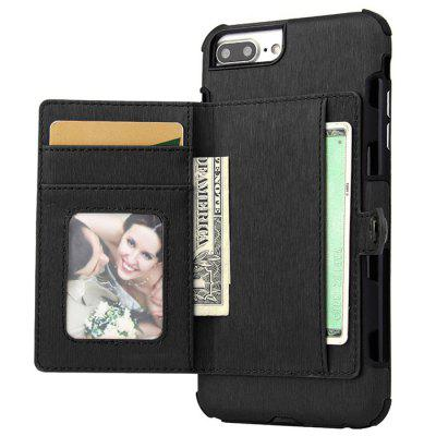 Full Covered Phone Case with Card Slots for iPhone 7 Plus