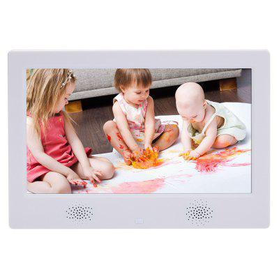10 inch High-Definition Ultra-thin Wall-mounted Electronic Photo Frame Video Player Speakers