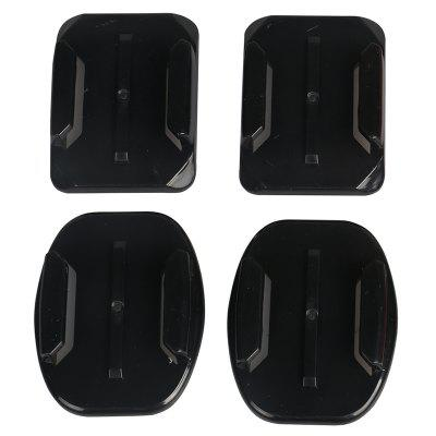 Curved Flat Surface Mounts Stickers Set for GoPro YI SJCAM Action Camera