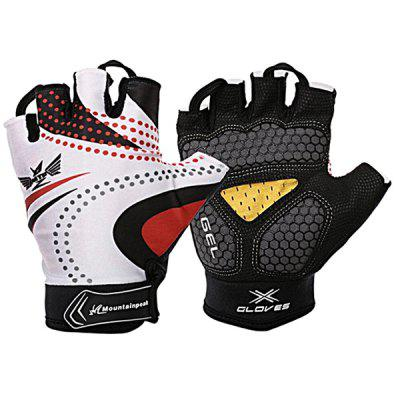 Mountainpeak Outdoor Silicone Half-finger Cycling Gloves for Riding