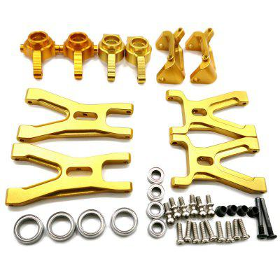 Steering Knuckle Hub Base C Carrier Lower Suspension Arm for Wltoys A959 Vortex 1/18 RC Car
