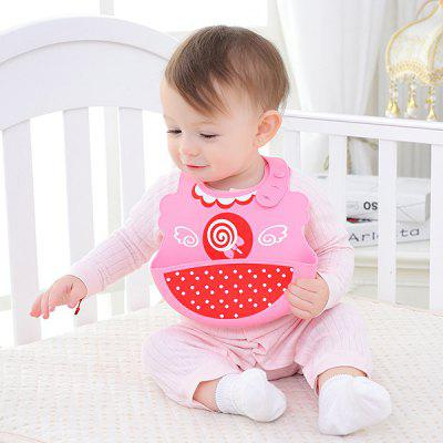 Children's Baby Bib Rice Pocket