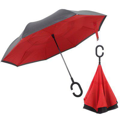 Type C Car Creative Reverse Umbrella for Rainy Day