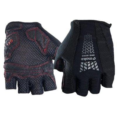 MOKE Wear-resistant Breathable Half-finger Cycling Gloves for Riding