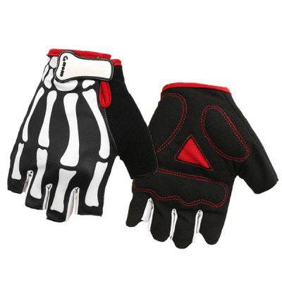 MOKE Outdoor Half-finger Cycling Gloves for Riding