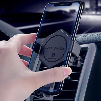 Floveme 2-in-1 Wireless Charger 360-degree Rotation Phone Holder