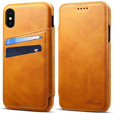 Fashion Flip Cover Protective Phone Case for iPhone XR