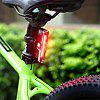 Utorch DT - 7505 USB Charging Waterproof Bike Warning Light - BLACK