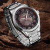 CURREN 8246 Fashion Waterproof Male Quartz Watch - GRAY