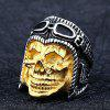 Men Ring Alloy Creative Pattern Club Halloween - SILVER