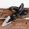 Outdoor Camping Tactical High Hardness Folding Knife - BLACK