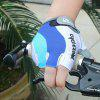 Wear-resistant Breathable Half-finger Cycling Gloves for Riding - DEEP SKY BLUE