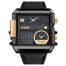 6 11 F920 Fashion multifunctioneel quartz horloge