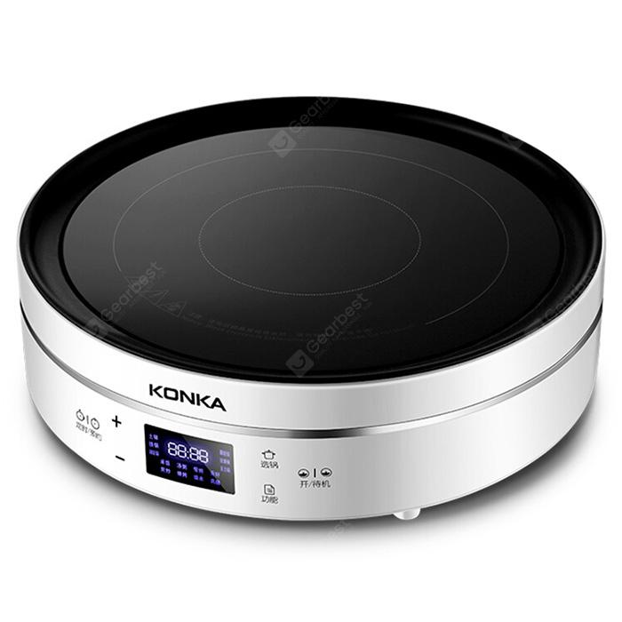 KONKA KES 22AS02 High power Infrared Light Heating Induction Cooker WHITE