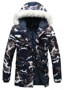 22c02442 Men Warm Parka Fashion Camouflage Comfortable Coat · Men Warm Parka Fashion  Camouflage Comfortable Coat. $40.64. +1. 84% OFF Men's Jacket Casual Winter  ...