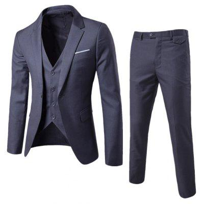 Business Casual Suit Groomsmen Wedding