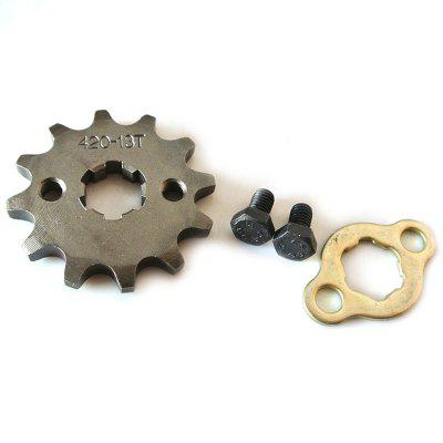 420 - 17MM - 13T Front Engine Sprocket Set for Lifan 110 125cc Engine Dirt Pit Bike ATV