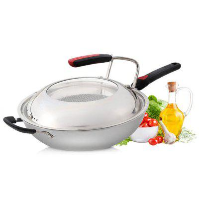 CBG32A1 Stainless Steel Wok for Induction Cooker