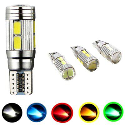 T10 - 5630 Car LED Lights 10 SMD Decoding Show Width Light Reading Lamp